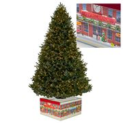 Christmas Tree Box - Medium LED Lighted Christmas Tree Box
