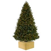 Christmas Tree Box - Medium Sparkle Gold Christmas Tree Box