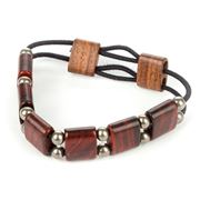 Davin & Kesler - Cocobolo & Stainless Steel Bracelet
