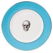 Melody Rose - Blue Skull Dinner Plate