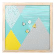 Retro Kitchen - Aqua Magnet Board