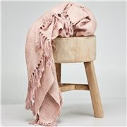 Cloth & Co - Cotton Tassel Tea Throw