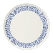 Habitat - Novali Tilt Blue Dinner Plate