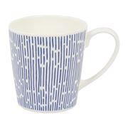 Habitat - Novali Tilt Blue Mug
