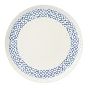 Habitat - Novali Phase Blue Dinner Plate