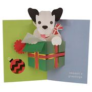 UWP Luxe - Puppy Christmas Greeting Card Set 6pce