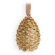 L'objet - Christmas Gold Pinecone Ornament