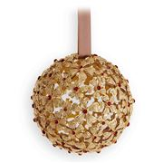L'objet - Christmas Gold & Red Garland Ornament