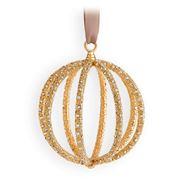L'objet - Christmas Gold Globe Ornament
