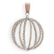 L'objet - Christmas Platinum Globe Ornament