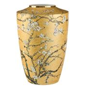 Goebel - Vincent van Gogh's 'Almond Tree' Gold Vase 41cm