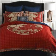 Wedgwood Home - Imperial Red King Quilt Cover Set