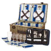 Satara - Wicker Picnic Basket Set for Six