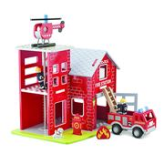 New Classic Toys - Fire Station Play Set