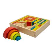 Artiwood - Wooden Building Block Set 33pce