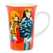 Alperstein - Warlukurlangu Birds Stripe Mug