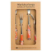 Alperstein - Otto Jungarrayi Sims Dessert Fork Set 4pce