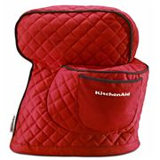 KitchenAid - Accessories Red Fitted Stand Mixer Cover