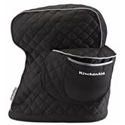 KitchenAid - Accessories Black Fitted Stand Mixer Cover