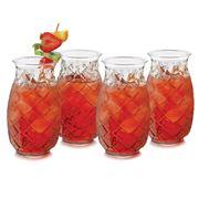 Libbey - Pineapple Cocktail Set 4pce