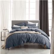 Private Collection - Versai Denim Super King Quilt Cover Set