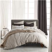 Private Collection - Versai Quilt Cover Set Linen Queen