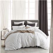 Private Collection - Versai White King Quilt Cover Set