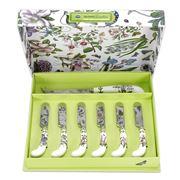 Portmeirion - Botanic Garden Cheese Knife & Spreader Set 7pc