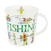 Dunoon - Cairngorm Sporting Antics Fishing Mug