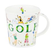 Dunoon - Cairngorm Sporting Antics Golf Mug