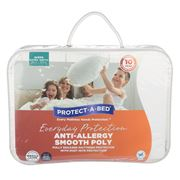 Protect-A-Bed - Anti-Allergy Poly Mattress Protector Queen