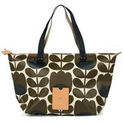 Orla Kiely - Tulip Stem Bark Zip Shopper