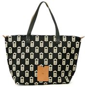 Orla Kiely - Little Sweet Pea Liquorice Zip Shopper