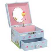 Bobble Art - Square Jewellery Boxes Woodland