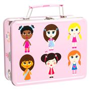 Bobble Art - Paper Doll Tin Suitcase