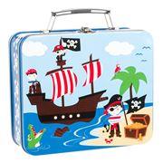 Bobble Art - Pirate Tin Suitcases