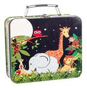 Bobble Art - Jungle Animals Tin Suitcases