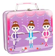 Bobble Art - Ballerina Tin Suitcase