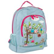 Bobble Art - Woodland Animals Canvas Backpack