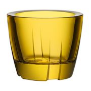 Kosta Boda - Bruk Yellow Votive Candle Holder