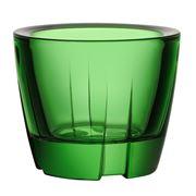 Kosta Boda - Bruk Apple Green Votive Candle Holder