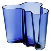 iittala - Aalto Anniversary Ultramarine Vase 16cm