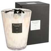 Baobab - Pearls Large White Pearls Candle