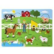 Melissa & Doug - Old MacDonald's Farm Sound Puzzle 8pc