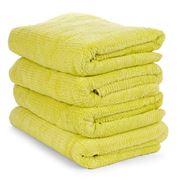 Sheridan - Trenton Citron Bath Towel Set Of 4