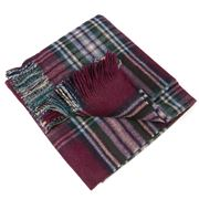 Bronte - Highland Tweeds Inglebrough Burgundy Mini Ruana