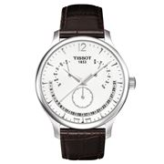 Tissot - Tradition Perpetual Calendar w/Brown Leather Strap
