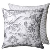 Wedgwood Home - Hibiscus Silver Lounge Cushion