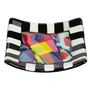 Case Island Glass - Mosaic Lucy Small Square Plate