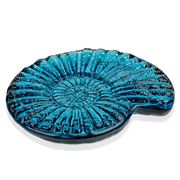 Hudson Beach Glass - Jewel Sapphire Nautilus Soap Dish